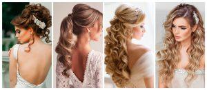diferentes peinados para novias