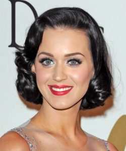 peinado pin up de katy perry