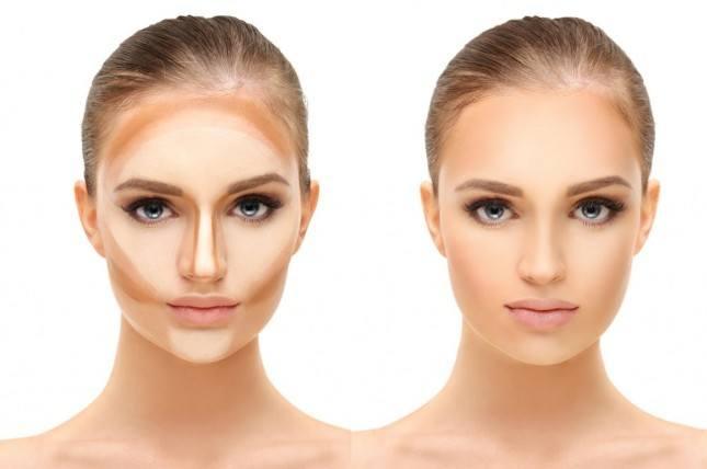 peinado y maquillaje para cara redonda