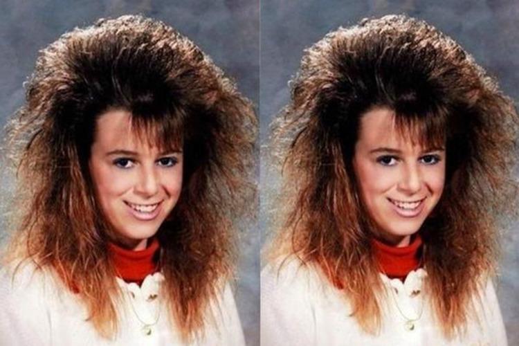 peinado con frizz y tupe