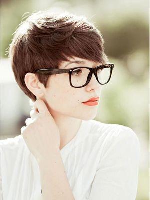 peinado hipster de cabello corto