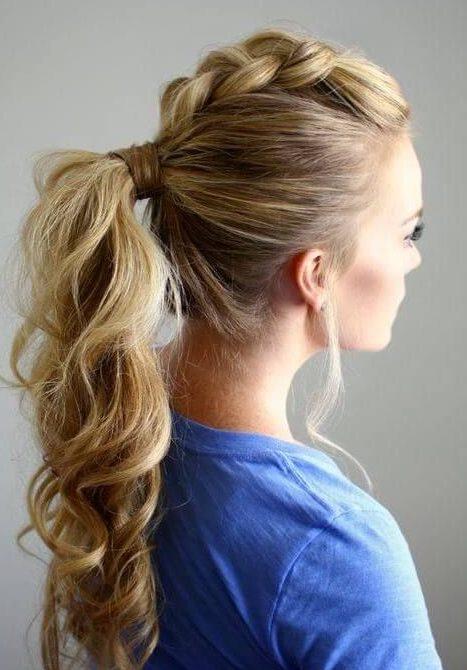 peinado con trenza super moderno y facil