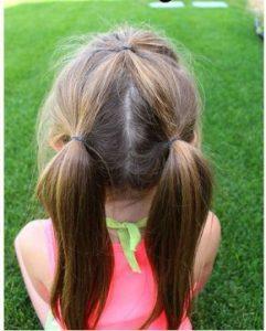peinado de coleta sencillo