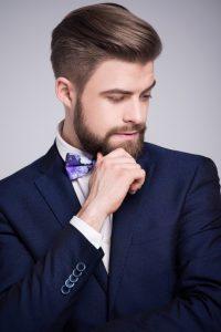 peinado de hombre para boda