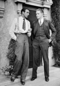 peinados de hombres en los años 20