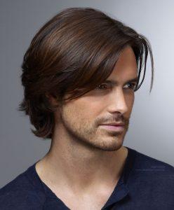 peinado de lado para hombre