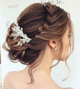 peinado de novia relajado
