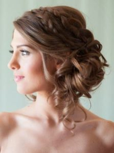 peinado de novia recogido sencillo