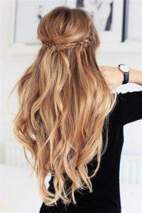 peinado con ondas relajadas