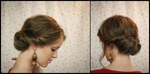 peinado facil de boda