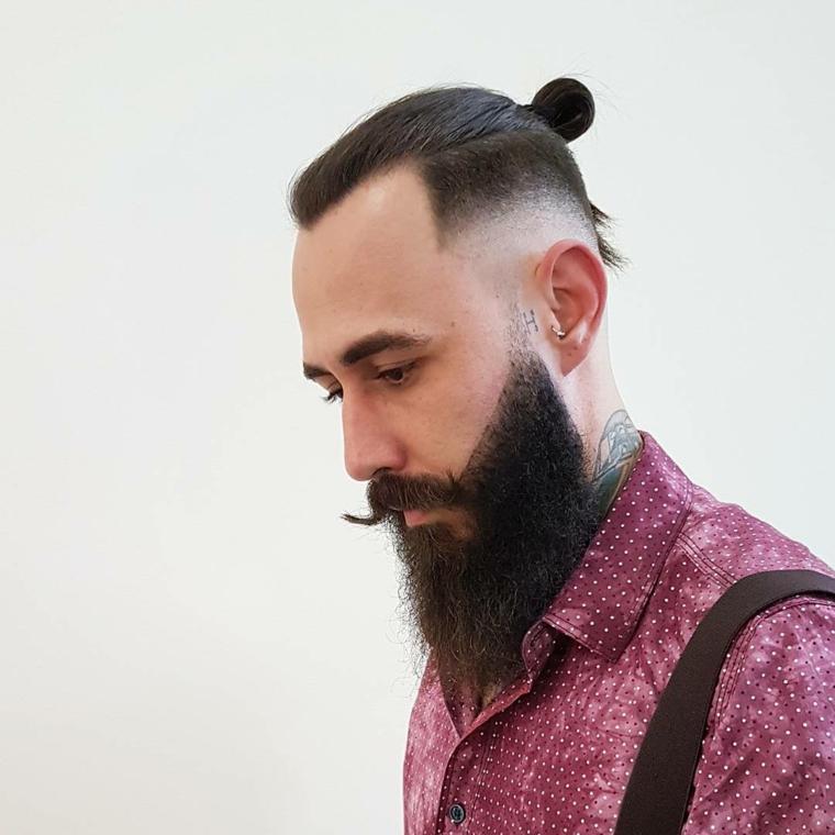 peinado de hombre hipster
