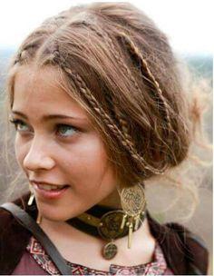 peinado medieval clasico