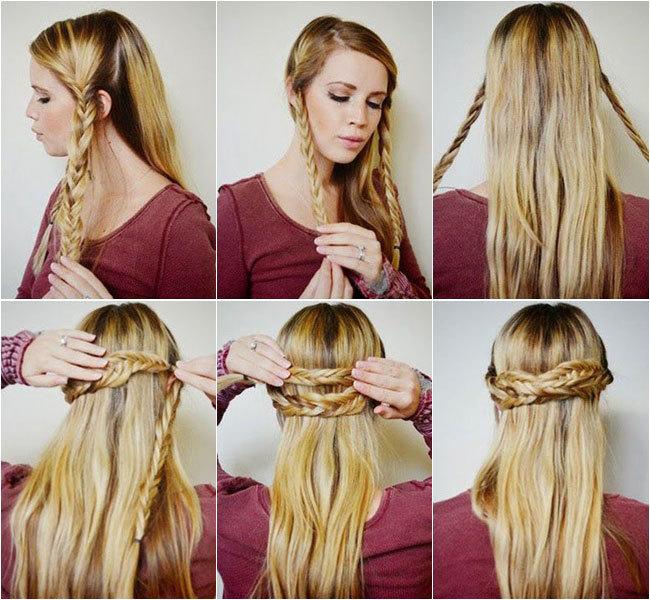 peinado medieval paso a paso