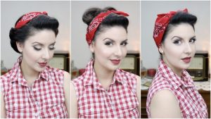 peinado pin up sencillo