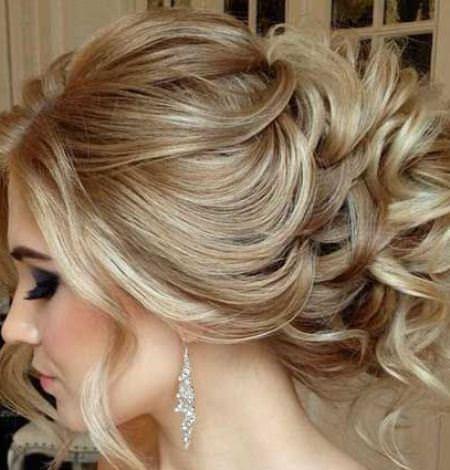 peinado recogido formal elegante