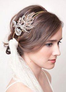 peinado recogido para boda