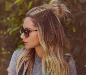 peinado recogido a la moda