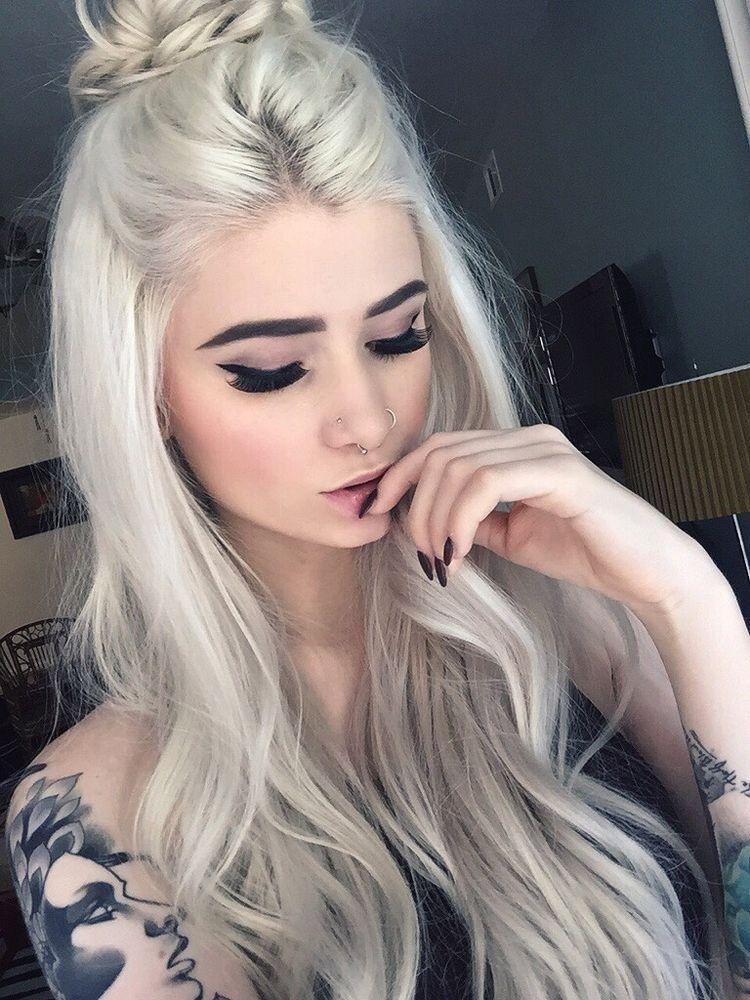 peinado semirecogido hipster