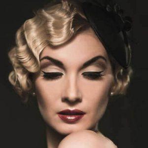 ondas para mujeres de cabello corto en los años 20