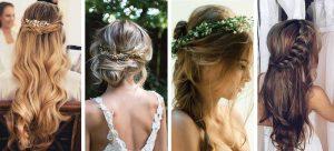 peinados boho para novias