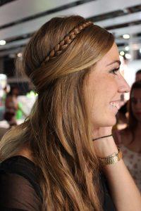 peinados de trenza para cabello liso