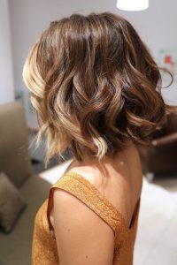 peinados con ondas muy sencillos