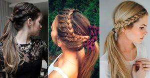 peinados lindos con trenzas
