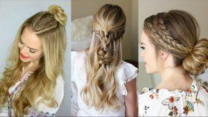 peinados con trenzas en cabello largo