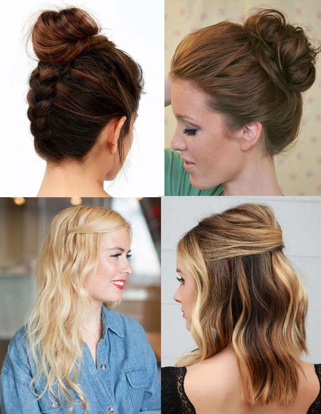 peinados de moda faciles