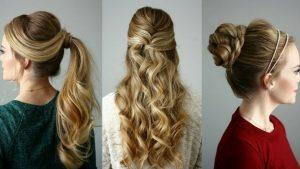 peinados faciles elegantes