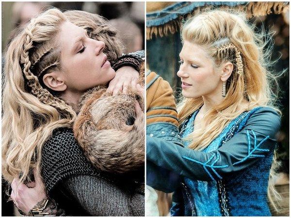 peinados faciles de mujer vikinga