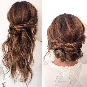 peinado facil para bodas