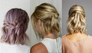 peinados faciles para mujeres de pelo corto