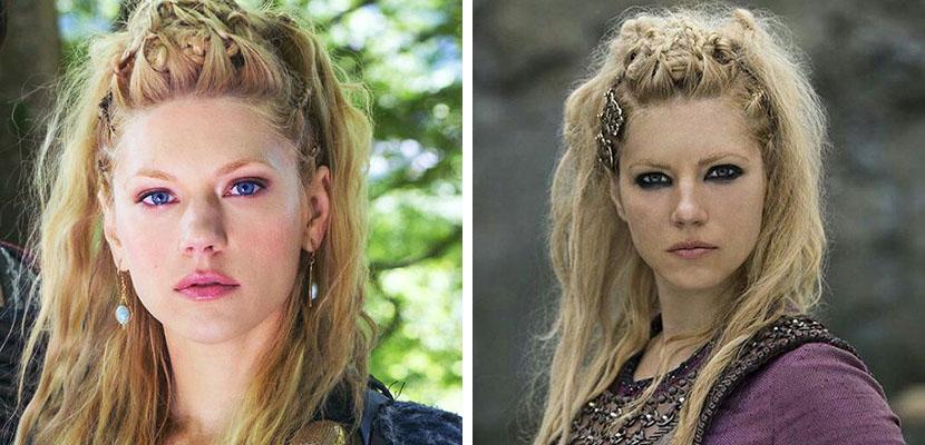 peinados paso a paso vikingos