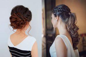 peinados para boda recogido cabello largo