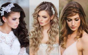 peinados para bodas calle largo