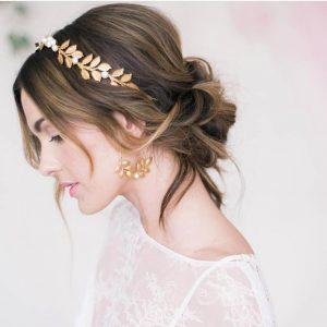 peinados para bodas con diadema