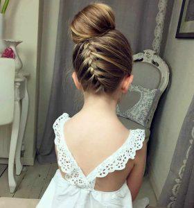 peinados para niñas elegantes