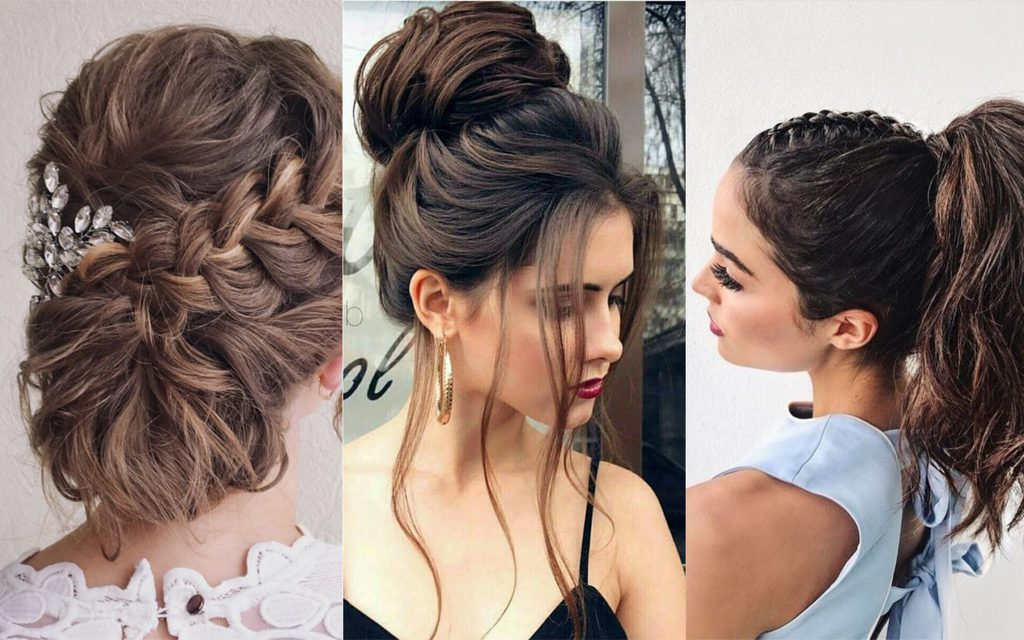 peinados recogidos a la moda faciles
