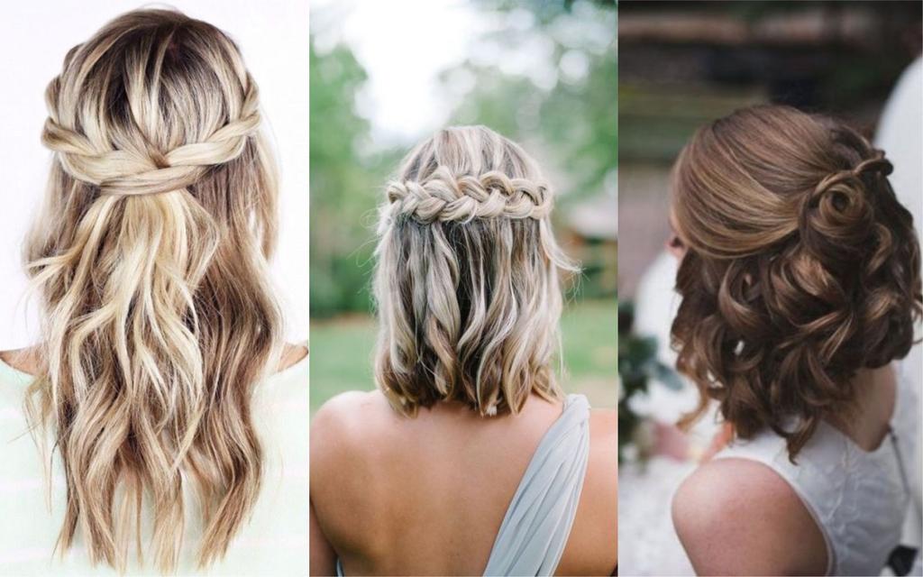 peinados semirecogidos elegantes