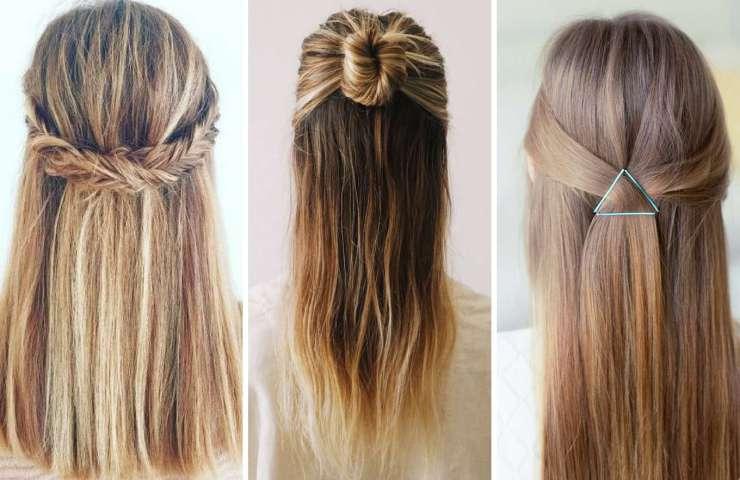 peinados semirecogidos faciles