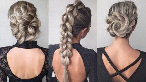 peinados sencillos para fiesta