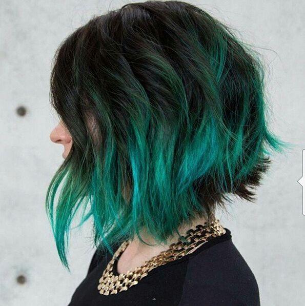 peinado de cabello corto rockero