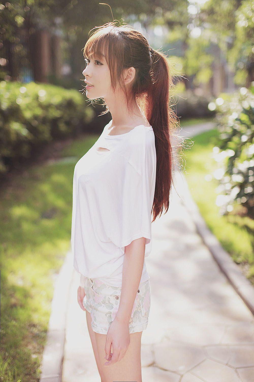 peinado de coleta japones