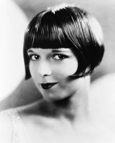 peinado de flequillo de los años treinta