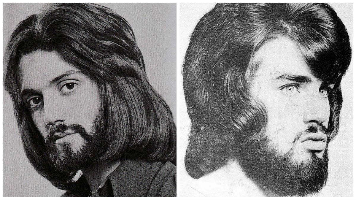 peinado d hombre en los años setenta