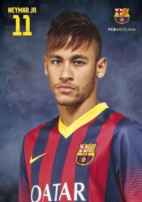 peinado de neymar en el barcelona