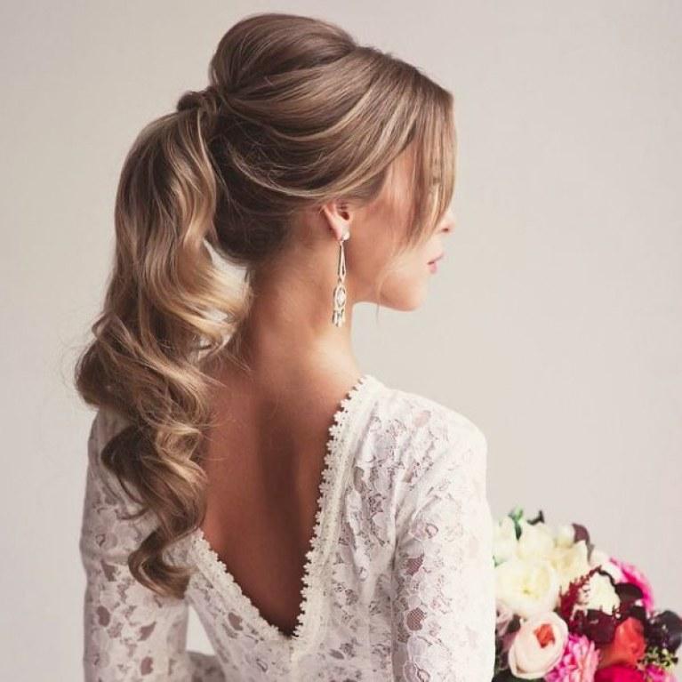 peinado de novia con ondas al agua
