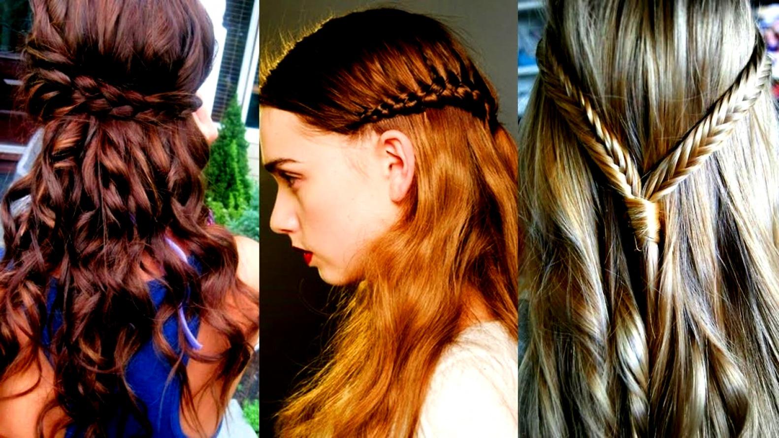 peinados con trenzas de adolescentes