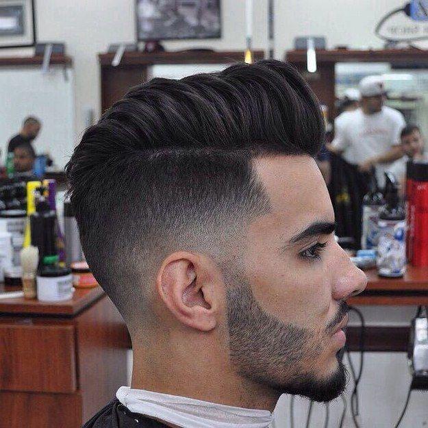 peinados degradados de hombres